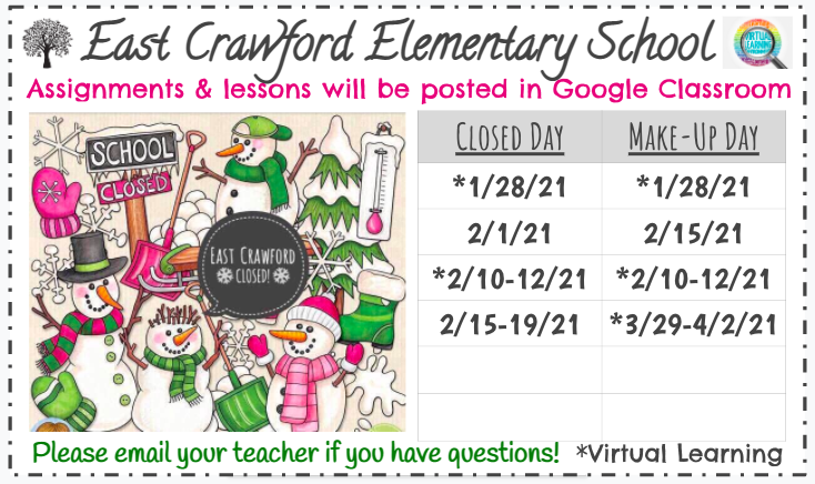 Snow Days & Virtual Learning