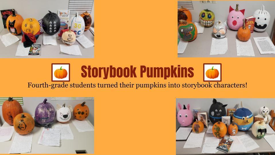 Fourth-Grade Storybook Pumpkins