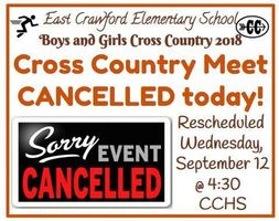 Rescheduled Wednesday, September 12