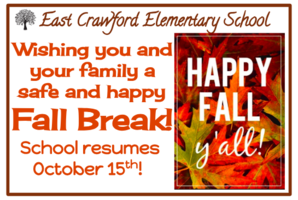 Happy Fall Break!