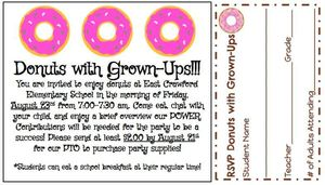 Donuts with Grown-Ups