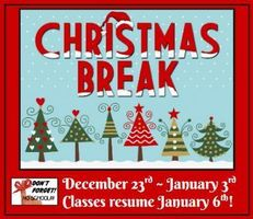 Christmas Break 2019