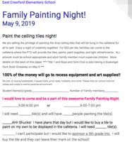 Family Paint Night