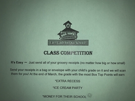 Receipt ~Class Competition