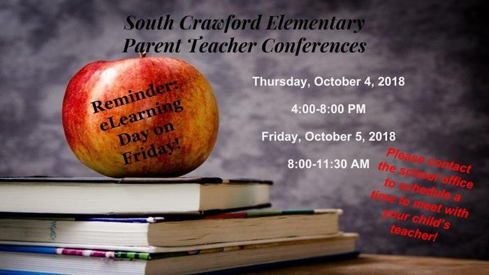 Parent Teacher Conferences This Week