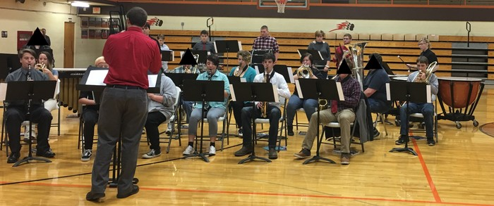 Band at Veterans Day