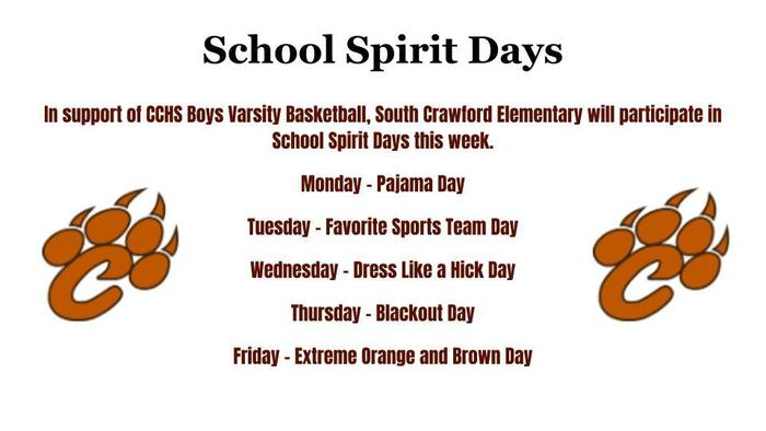School Spirit Days