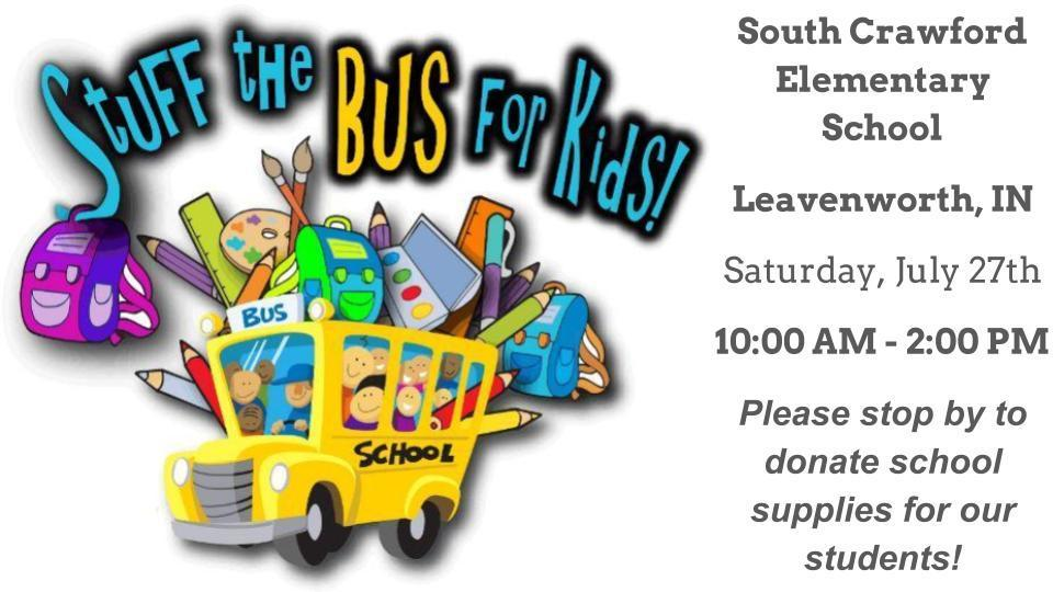 Stuff the Bus - July 27