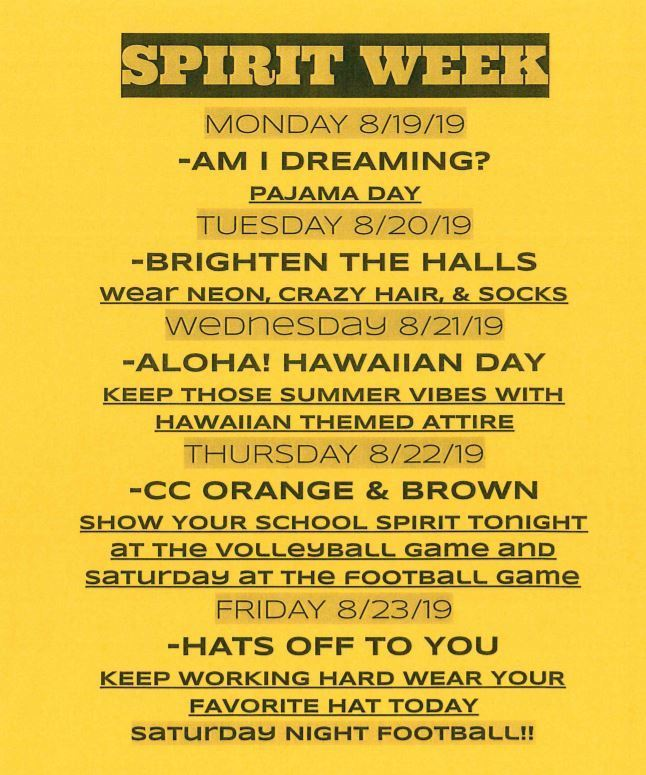 Dress up days!!
