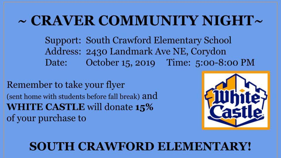 Craver Community Night