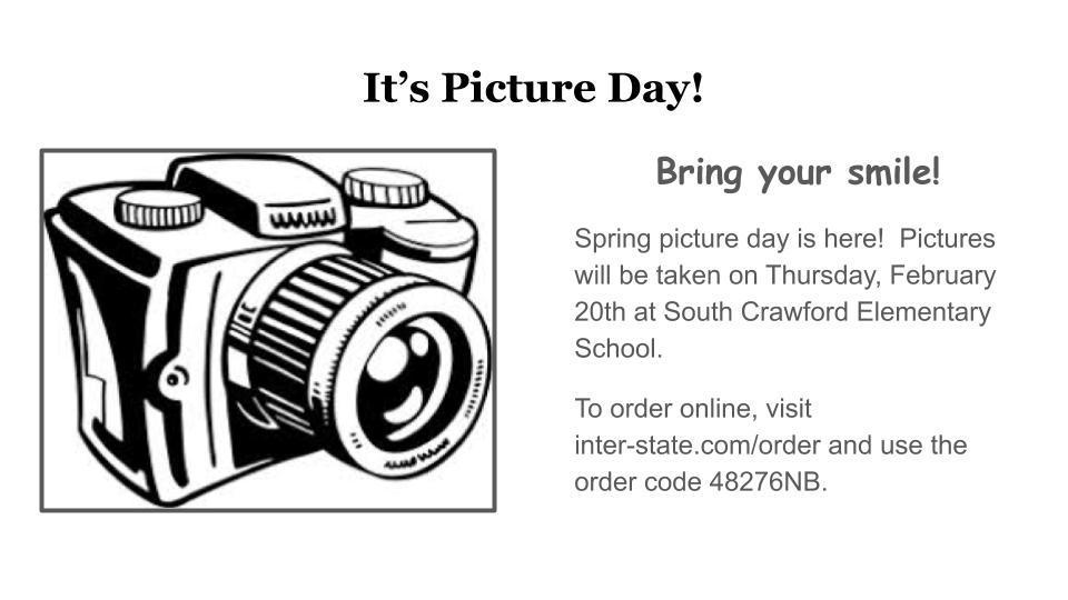 Spring picture day at SCE!